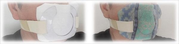 マスク装着例