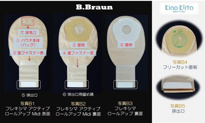 ストマ装具メーカー ビーブラウン b.braun
